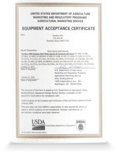USDA Acceptance - Stainless Steel Mesh Apparel