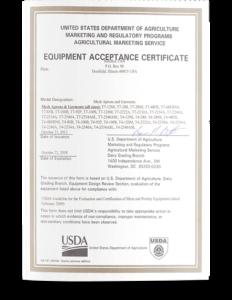 USDA Acceptance - Titanium Mesh Apparel